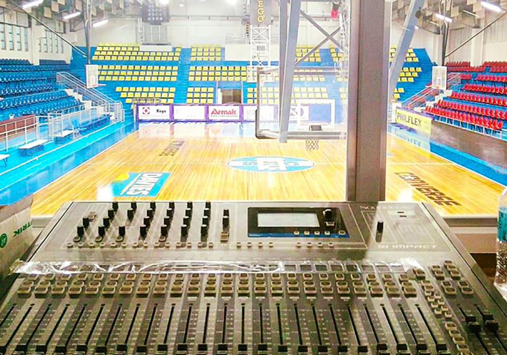 Chang Kai Shek College: Gymnasium Audio System