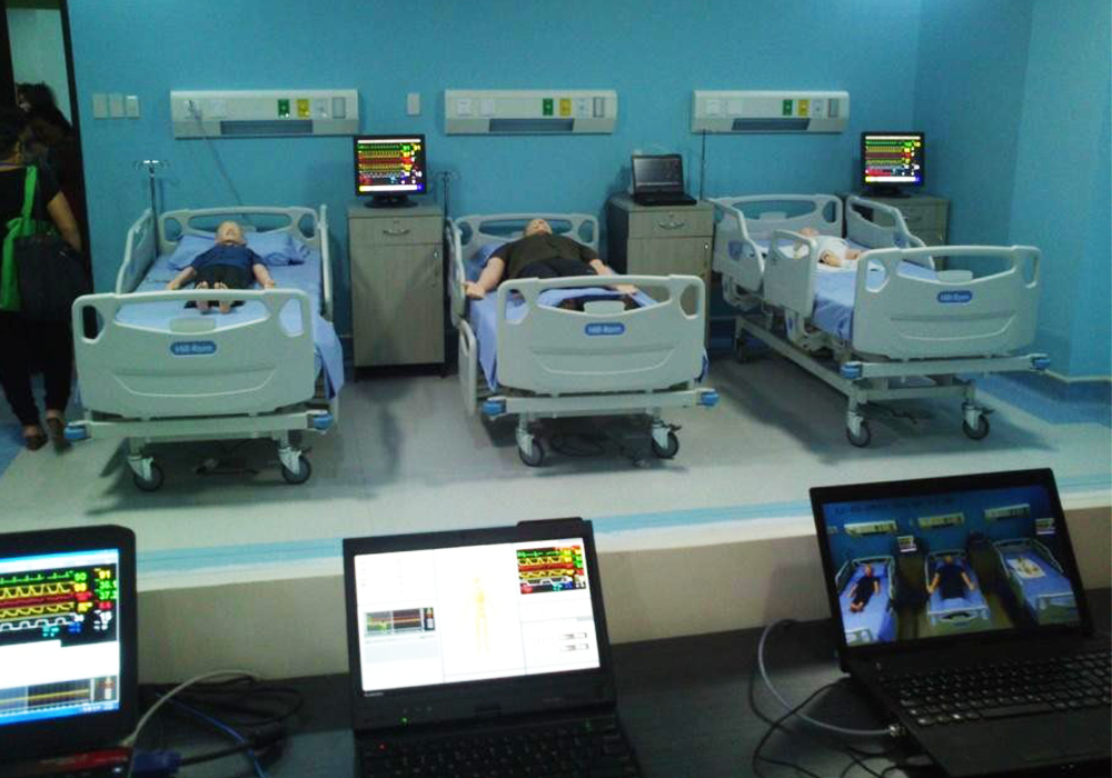 Davao Medical School Foundation: (Simulation System) A/V System for Amphitheater, Debriefing Rooms and Faculty
