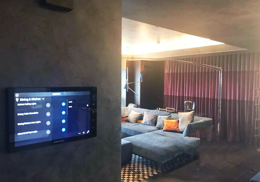 Full Crestron Home Automation: Lighting Control; Motorized Curtains and Drapes; Centralized A/C 2-way control; Multi-room Music; Touch Screen with Floor Plan Integration; Audio and Video Control, Voice Control via Amazon Alexa