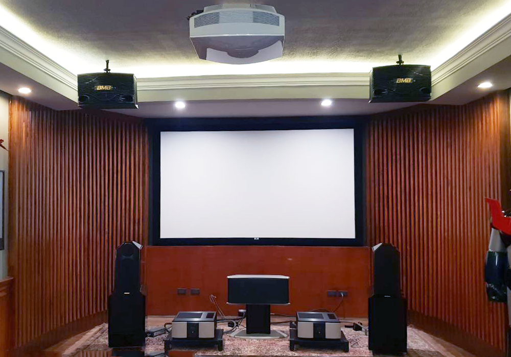 Home Theater: Egglestonworks Loudspeakers and Sony Projector